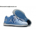 Mens Air Jordan XXXI 31 Low UNC PE White University Blue