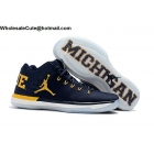 wholesale Mens Air Jordan XXXI 31 Low Michigan PE College Navy Yellow