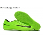 Mens Nike Mercurical Victory VI IC Green Black