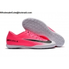 Mens Nike Mercurical Victory VI IC White Black Pink