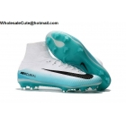 Mens Nike Mercurial Superfly V FG Blue Black White