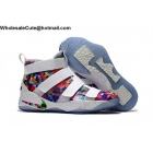 wholesale Mens Nike LeBron Soldier 11 Prism Multi Color