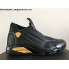 wholesale Air Jordan 14 DMP Mens Basketball Shoes Black Gold