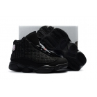Kids Air Jordan 13 Black Cat