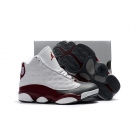 Kids Air Jordan 13 Shoes Grey Toe