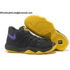 wholesale Nike KD Trey 5 IV High Black Yellow Purple Mens New Basketball Shoes