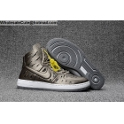 Mens & Womens Nike Air Ultra Force Mid Joli Metallic Pewter AF1 shoes