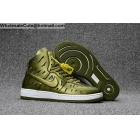 Mens & Womens Nike Air Ultra Force Mid Joli Army Green White AF1 shoes