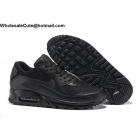 wholesale Mens & Womens Nike Air Max 90 Essential All Black shoes