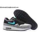 wholesale Mens & Womens Atmos x Nike Air Max 1 Elephant Black Jade White Running shoes