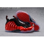 Mens Nike Air Foamposite One Metallic Red Black Shoes
