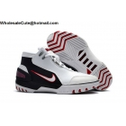 wholesale Mens Nike Air Zoom Generation White Red Black Basketball Shoes