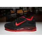 wholesale Nike Air Max 2018 Elite Mens Running Shoes Black Red