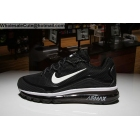 wholesale Nike Air Max 2018 Elite Mens Running Shoes Black White