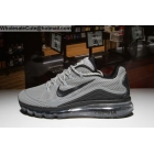wholesale Nike Air Max 2018 Elite Mens Running Shoes Grey Black