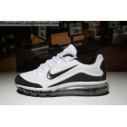 Nike Air Max 2018 Elite Mens Running Shoes White Black
