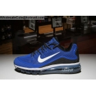 wholesale Nike Air Max 2018 Elite Mens Running Shoes Blue White Black