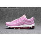 Womens Nike Air Max 97 Pink White Running Shoes