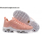 wholesale Womens Nike Air Max Plus TN Ultra Light Pink White Running Shoes