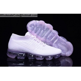 Womens Nike Air VaporMax Flyknit Arctic Pink Running Shoes