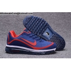 wholesale Mens Nike Air Max 2017.5 Dark Blue Red White Size US7 - US13