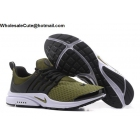 wholesale Nike Air Presto Mens Running Shoes Army Green Black