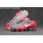 Womens Nike Air VaporMax Running Shoes Grey Pink White
