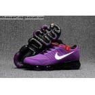 Womens Nike Air VaporMax Purple White Black Running Shoes