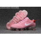 Womens Nike Air VaporMax Running Shoes Pink White