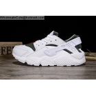 Mens & Womens Nike Air Huarache White Green Running Shoes