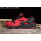 wholesale Mens & Womens Nike Air Huarache Red Black Running Shoes