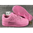 wholesale Womens Nike Air Force 1 Low All Pink AF1 Shoes