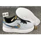 wholesale Mens Nike Air Force 1 Low '07 LV8 Light Blue White Shoes