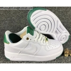 wholesale Mens & Womens Nike Air Force 1 Low White Green AF1 Shoes