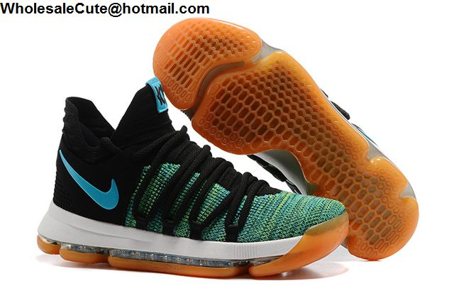 the best attitude 3dee6 433dc Mens Nike Zoom KD 10 Birds of Paradise Basketball Shoes