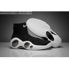 wholesale Mens Nike Zoom Flight Bonafide Black White Basketball Shoes