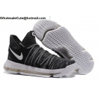 Mens Nike Zoom KD 10 Oreo Black White Basketball Shoes