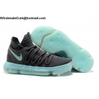 wholesale Mens Nike Zoom KD 10 Cool Grey Igloo Basketball Shoes
