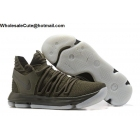 wholesale Mens NikeLab KD 10 NL EP Olive Green Basketball Shoes