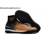 Mens Nike MercurialX Proximo II DF IC Black Orange White Shoes