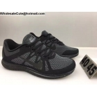 wholesale Mens Nike Free 4.0 Flyknit Black Grey Running Shoes