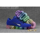 Mens Nike Air VaporMax 2018 Blue Rainbow Size US7 - US13