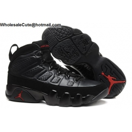 Air Jordan 9 PE Bred Black Red Mens Shoes