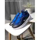 wholesale Nike Air Max Axis Black Blue White Mens Running Shoes