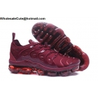Nike Air Vapormax Plus All Wine Red Mens Shoes