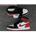 Air Jordan 1 Retro High OG Track Red Mens Basketball Shoes