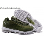 wholesale Nike Air Max 95 Ultra Essential Army Green White Mens Shoes