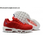 wholesale Mens & Womens Nike Air Max 95 TT Gym Red Sail Blue