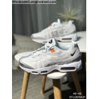 wholesale Off White Nike Air Max 95 White Silver Mens Shoes
