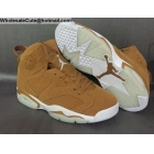 wholesale Air Jordan 6 Retro Wheat Mens Shoes